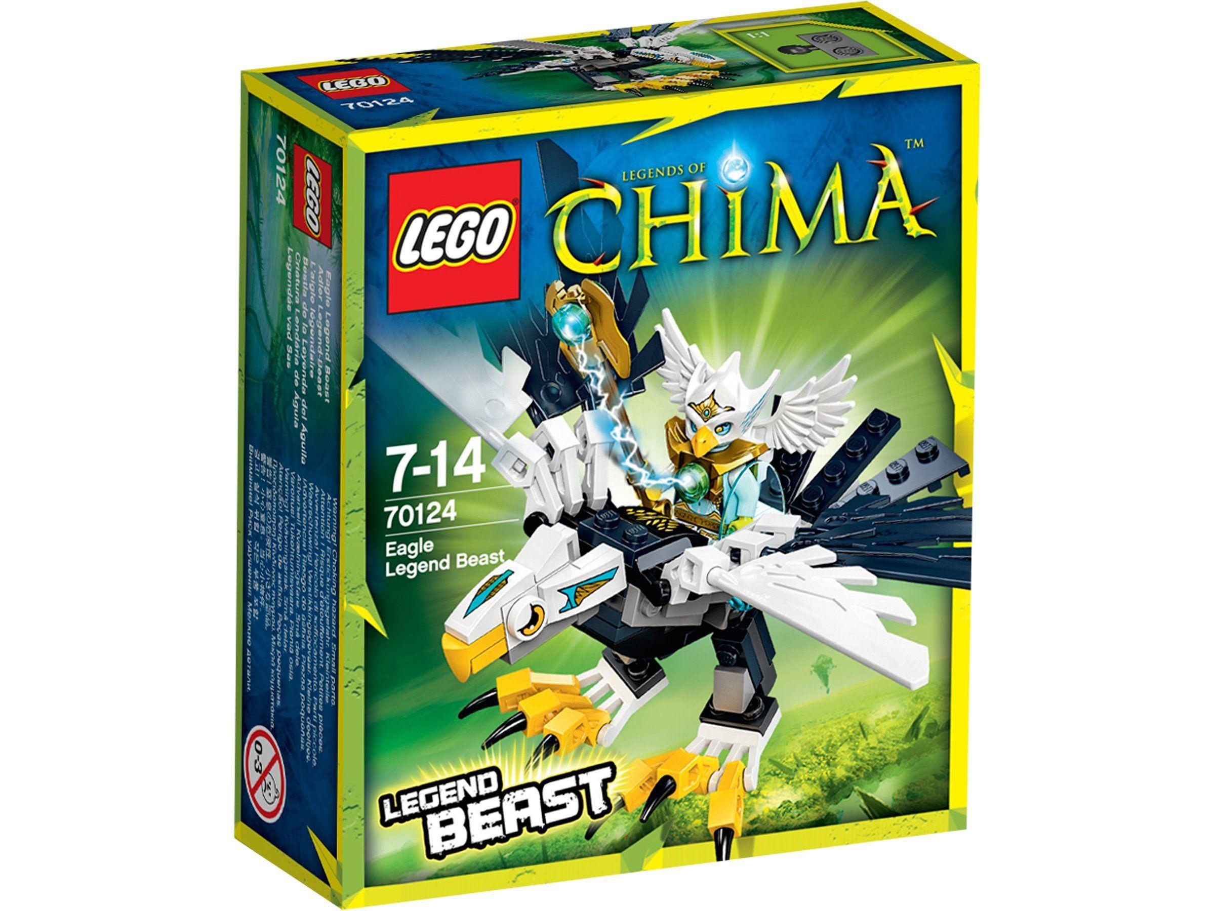 Lego Legends Of Chima Les Animaux Legendaires 70124 Jeu De Construction L Aigle Legendaire Amazon Fr Jeux Et Jouet Lego Idees Lego Animaux Legendaire