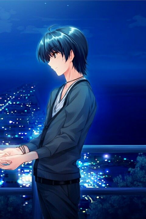 Romantis Wallpaper Couple Anime Terpisah Hd - Id Revisi