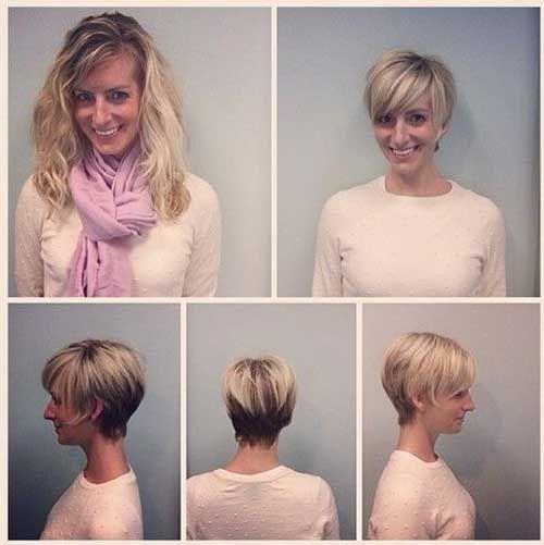 Schone Pixie Haarschnitt Ideen Fur Dunnes Haar Frisuren