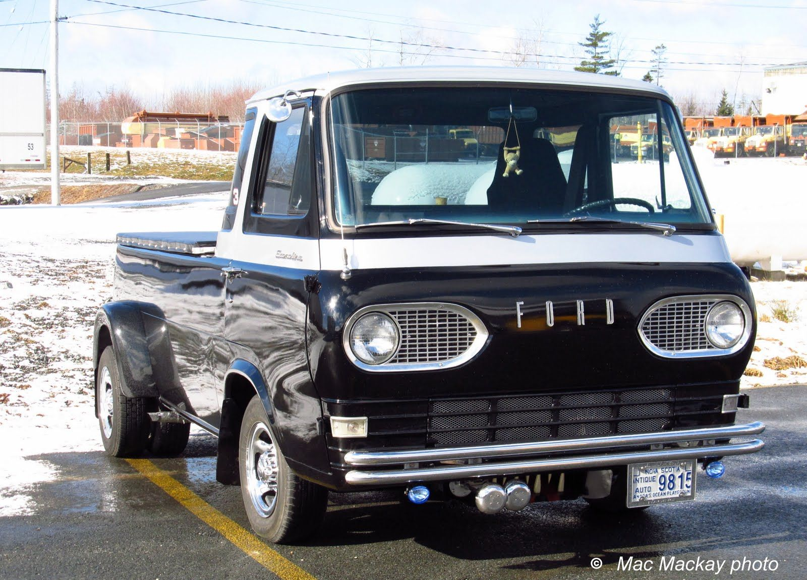 Ford econoline pickup the mid engine marvel pickup trucks ford and engine