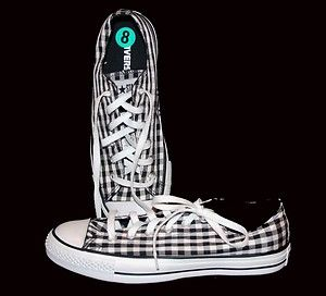 af0c3363154f black and white checkered chucks - Converse Tennis Shoes