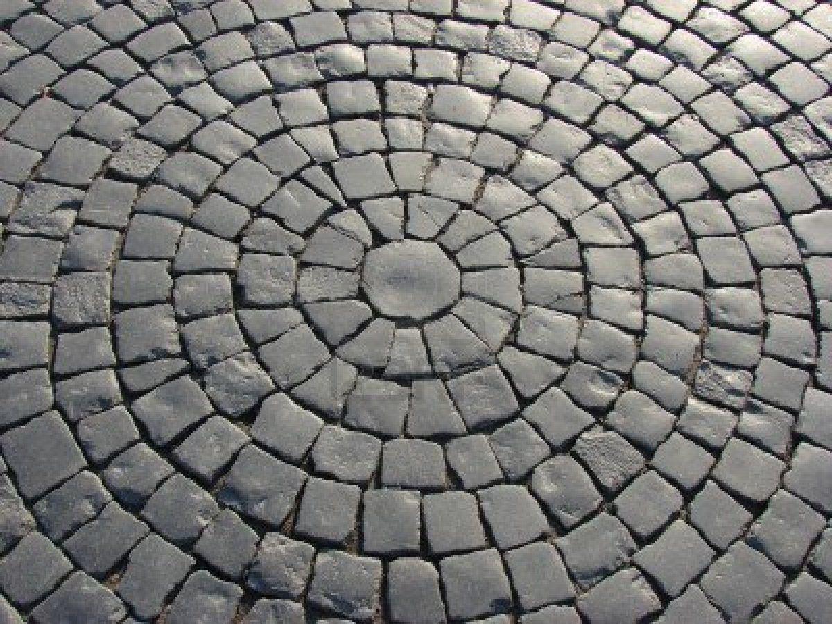 Circle With Sentences Circle Sentences Paving Design Paving Pattern Patio Stones