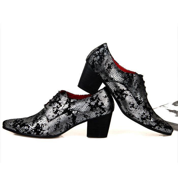 7f8ccd38ef7 men Cuban heel fashion men dress shoes elevator shoes yuppie leather ...