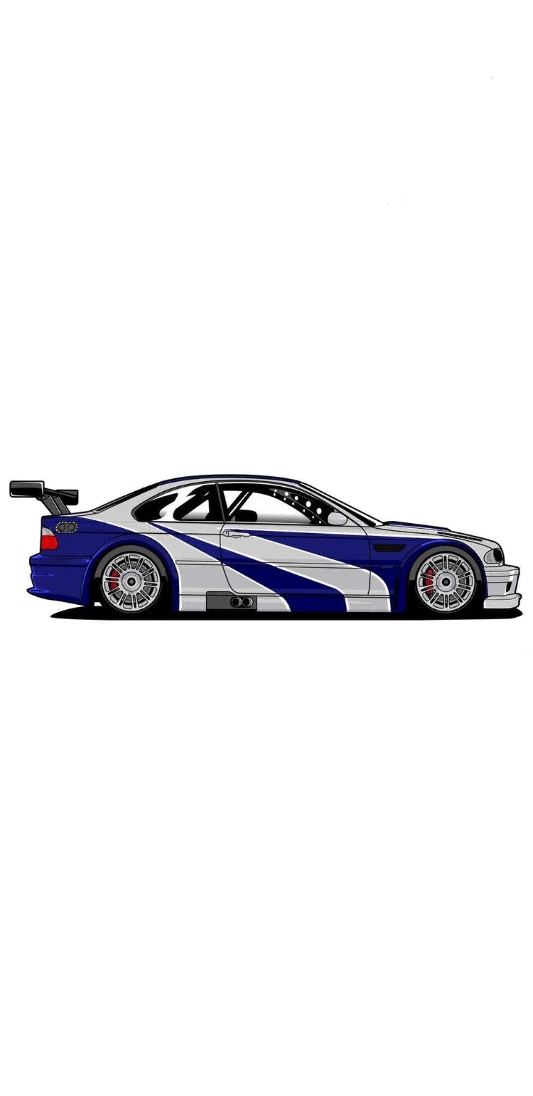 Bmw M3 Gtr Mobil Sport Mobil Sketsa