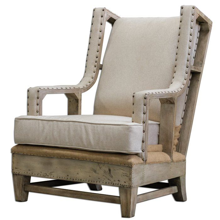 Wanted Two Super Comfortable Farmhouse Armchairs Linen Armchair