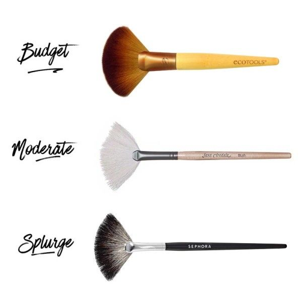 e9a4761e7c7f The Best Makeup Brushes In Every Price Range | Beauty | Fan brush ...
