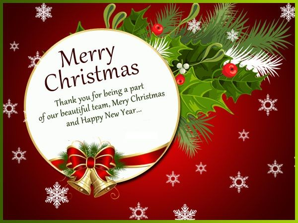 Christmas Messages from Colleagues | Merry Christmas | Pinterest ...