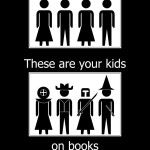 Burning through pages. Let kids read.
