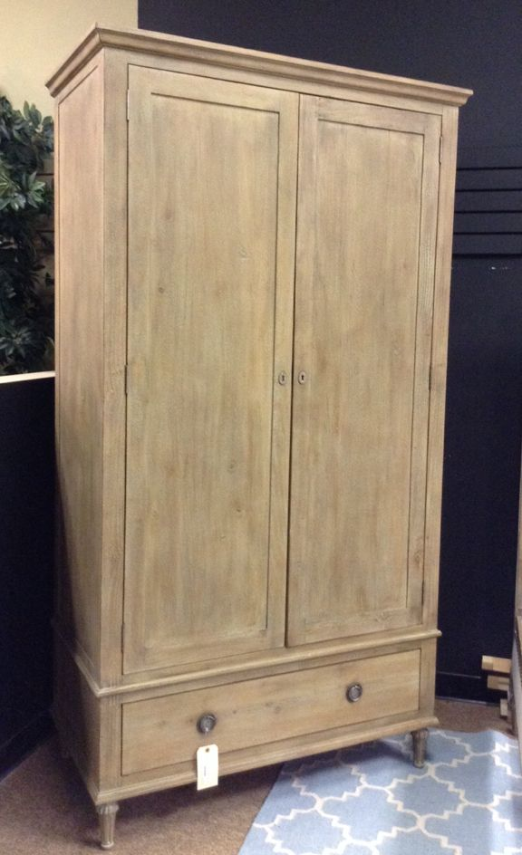 Restoration Hardware - Large Wooden Armoire - $1008.95 | MBO ...