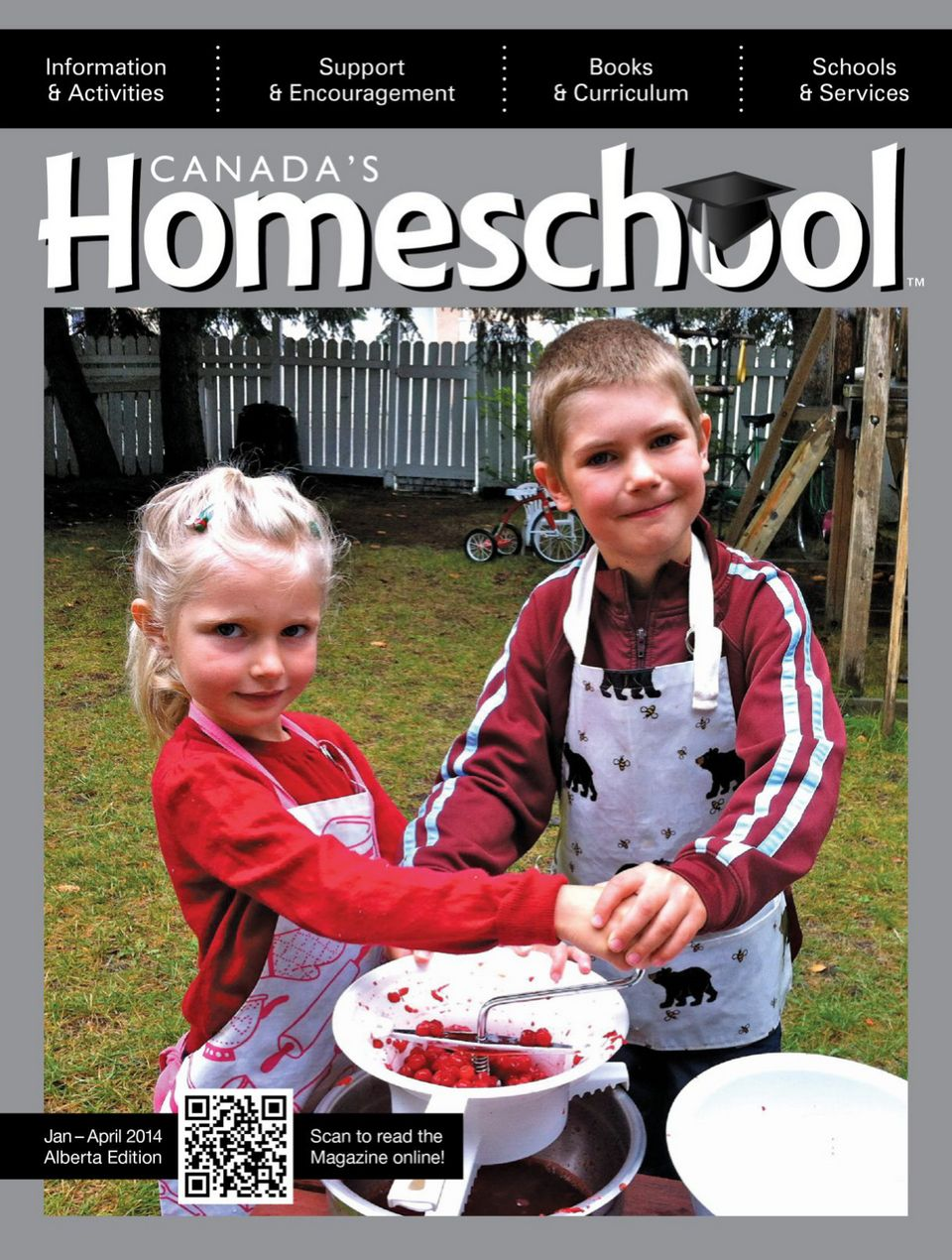 Canada's Homeschool Magazine. Alberta Winter 2013/2014