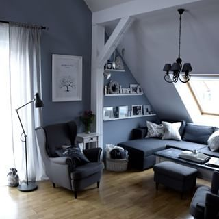living room with strandmon chair from ikea ikea ideas. Black Bedroom Furniture Sets. Home Design Ideas