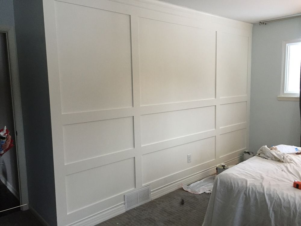 Building a Wood Paneled Wall - You Can Do It Too! images