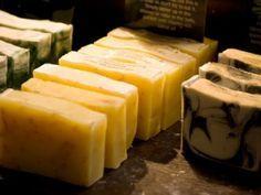 cremiger Schaum bei selbstgesiedeter Seife