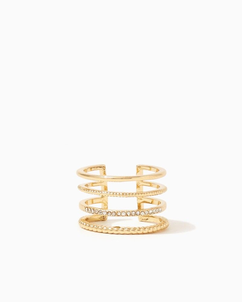 Tanis Twisted Cage Ring | Fashion Jewelry - Rings | charming charlie