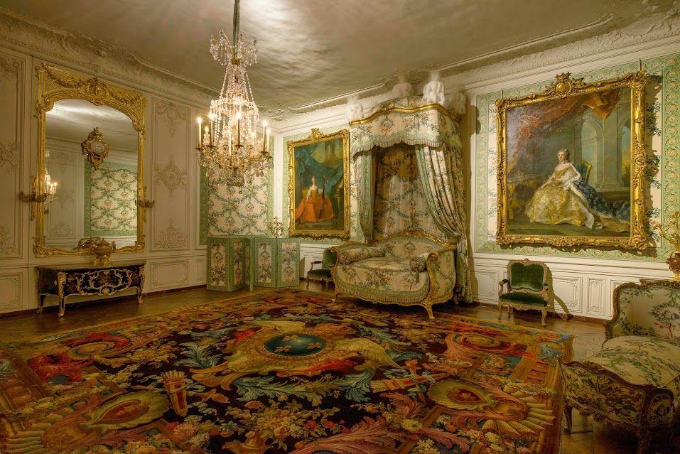 La chambre de Madame Victoire, fille de Louis XV
