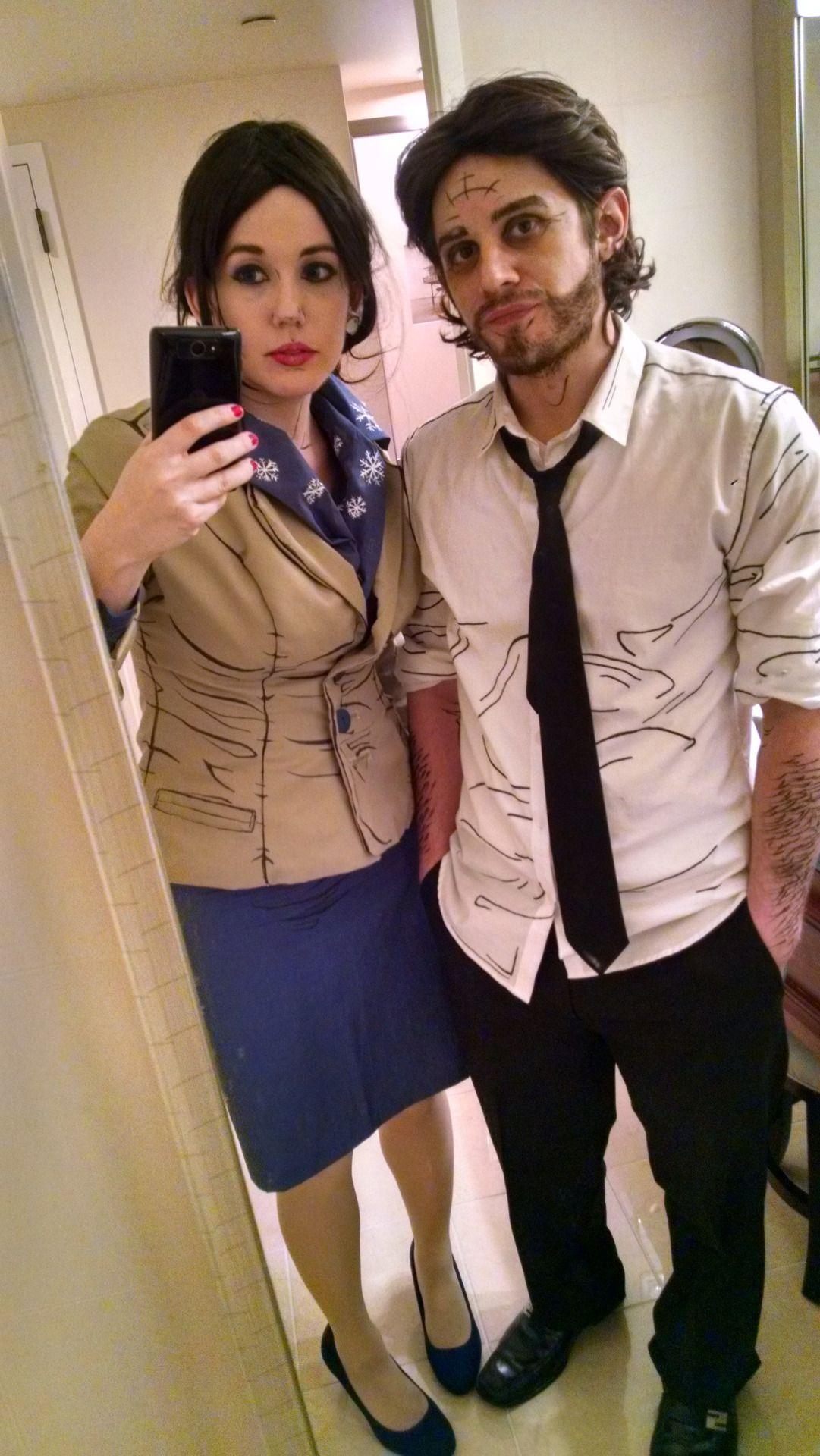 "galaktikmermaidcosplay "" Snow White & Bigby Wolf Selfies"
