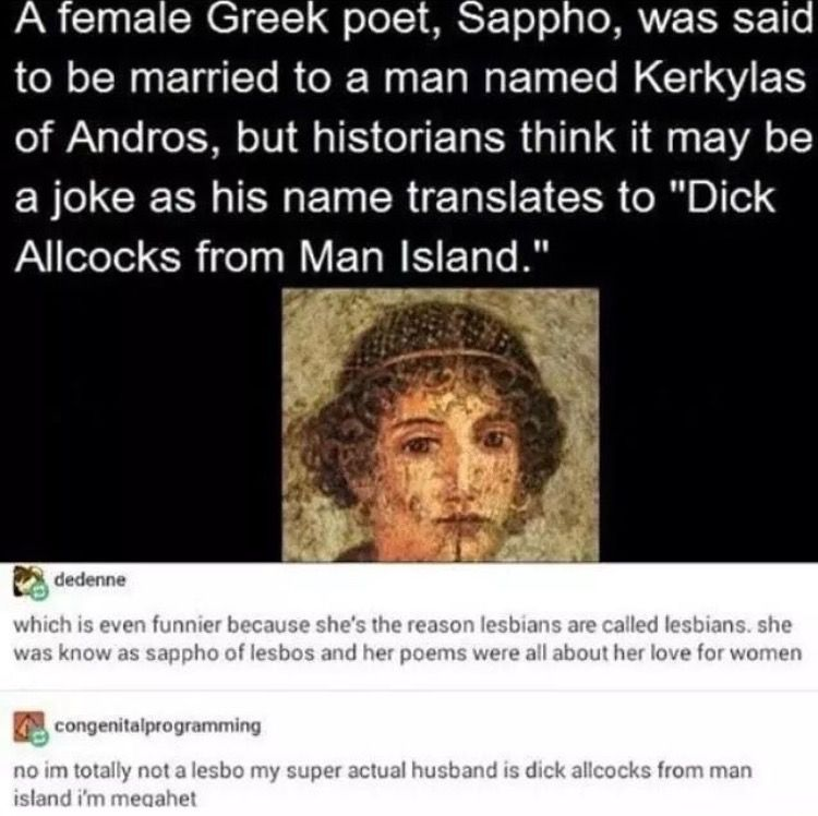 Sappho Was A Prolific Poet Probably Composing Around 10 000 Lines
