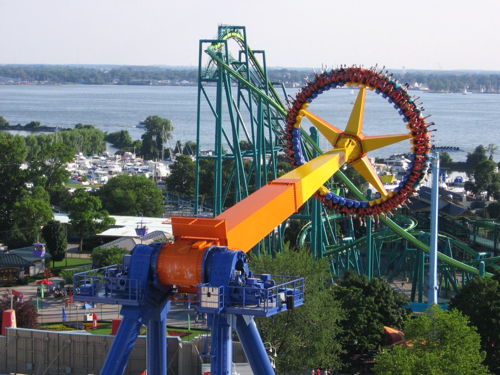 This is my favorite ride anywhere, ever. CEDAR POINT