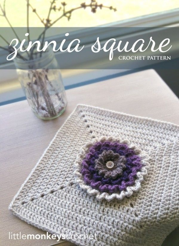 10 Pretty New Patterns for Crochet Blocks and Squares (Crochet ...