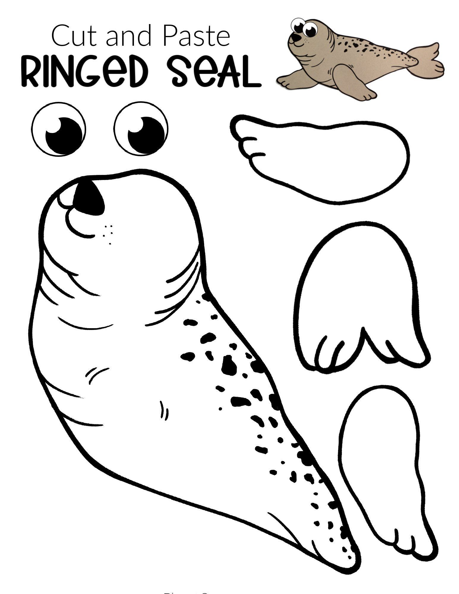 Easy Diy Arctic Seal Craft For Kids With Free Template In 2021 Arctic Animals Preschool Arctic Animals Preschool Activities Seal Crafts For Kids [ 2000 x 1545 Pixel ]