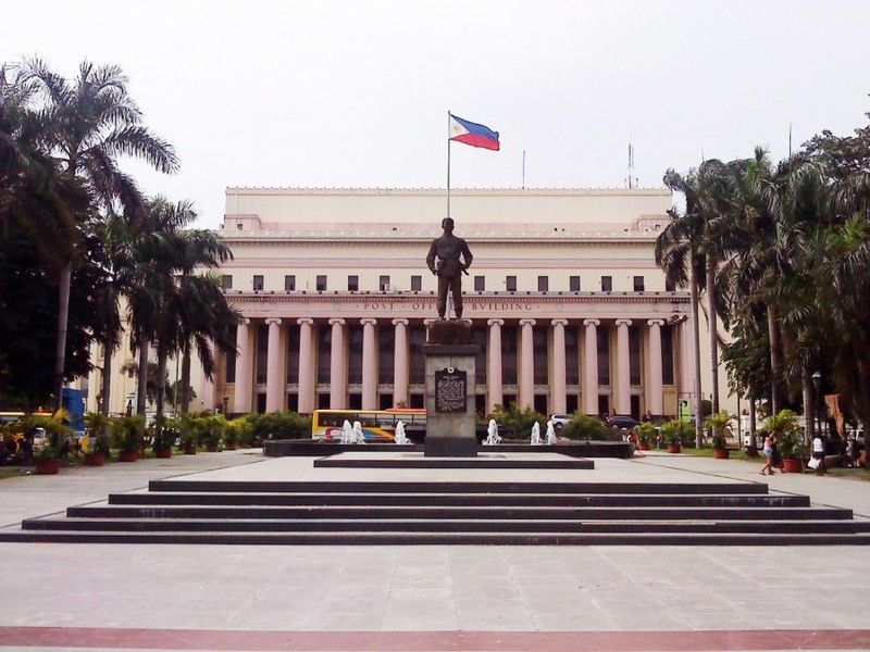 10 The Manila Central Post Office Is The Central Post Office Of The City Of Manila Philippines Filipino Architecture Ferry Building San Francisco Philippines
