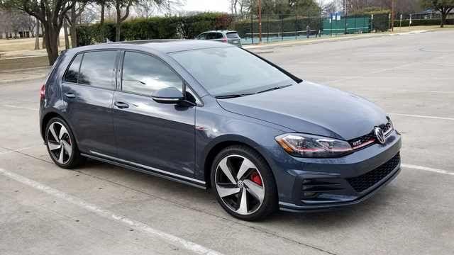2018 GTI Autobahn (Dark Iron Blue) | VW GTI | Volkswagen, Blue, Cars
