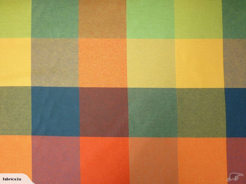 this would be good in kitchen (blinds) or for porch furniture. S is very partial to brights :)