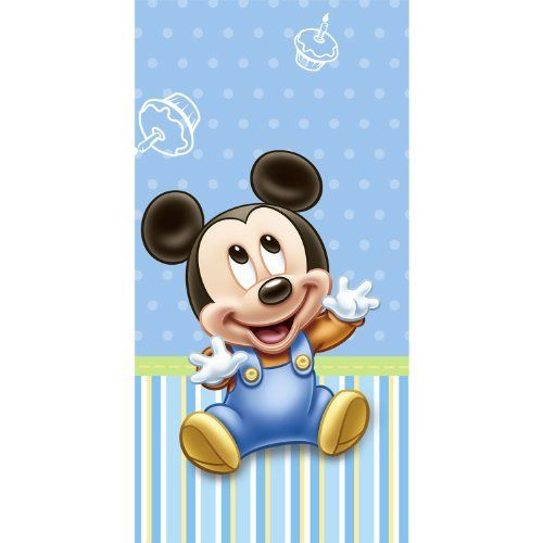 Mickey's 1st Birthday Plastic Tablecover Party Accessory by Hallmark. $9.75. Great Gift Idea.. Design is stylish and innovative. Satisfaction Ensured.. Manufactured to the Highest Quality Available.. Includes (1) plastic tablecover.. Save 46% Off!