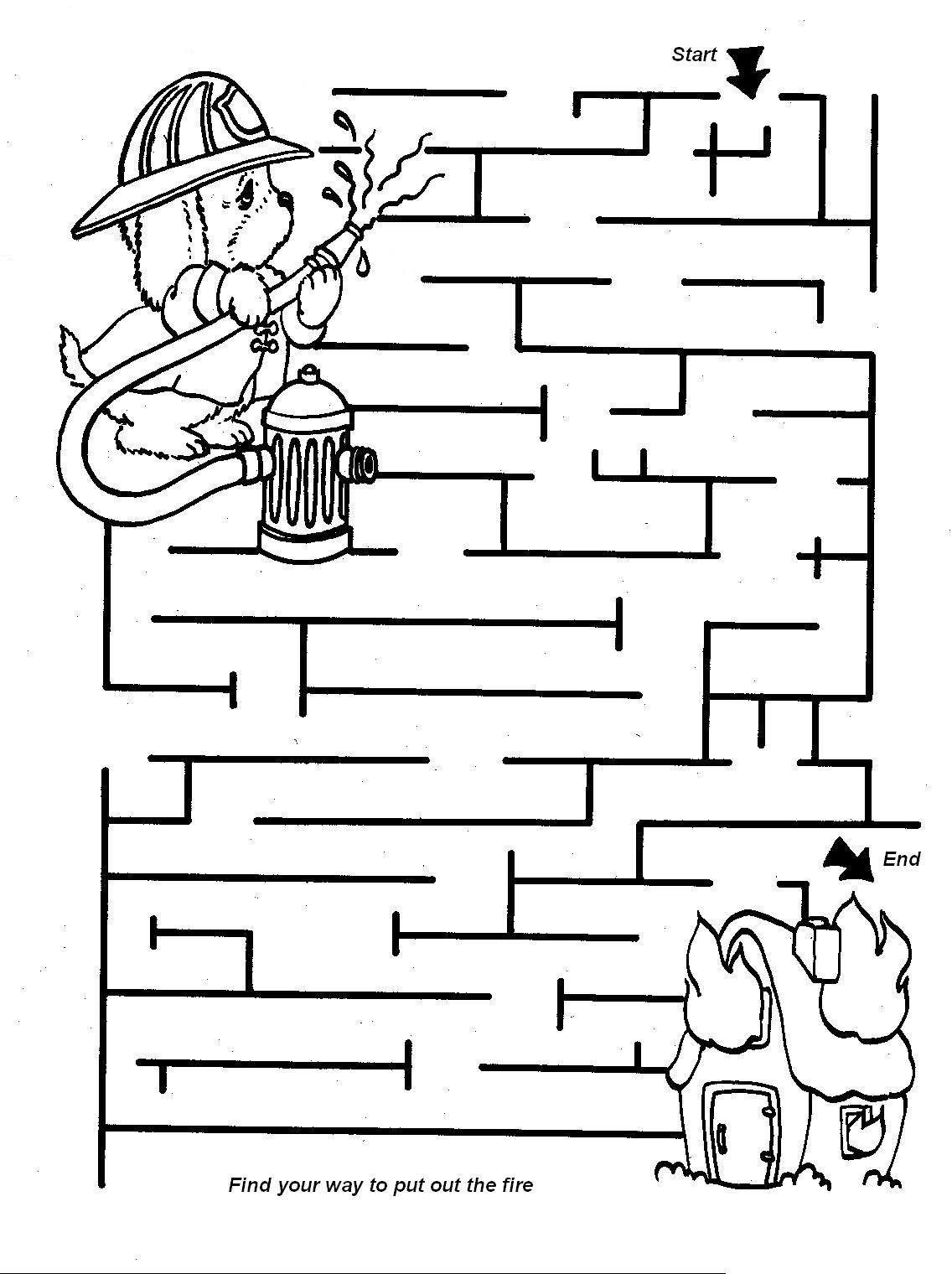 Best Mazes For Kids 74 Coloring Pinterest Bambino Labirinto E