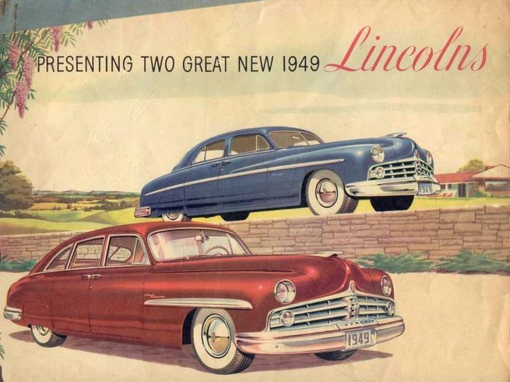 vintage car ads from the 1940s 1940s era lincoln ad cars lincoln retro lincoln car ads classic cars bikes pinterest ad car cars and