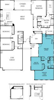 Lennar S Next Generation Home A Home Within A Home So Cool New House Plans Barndominium Floor Plans Floor Plans