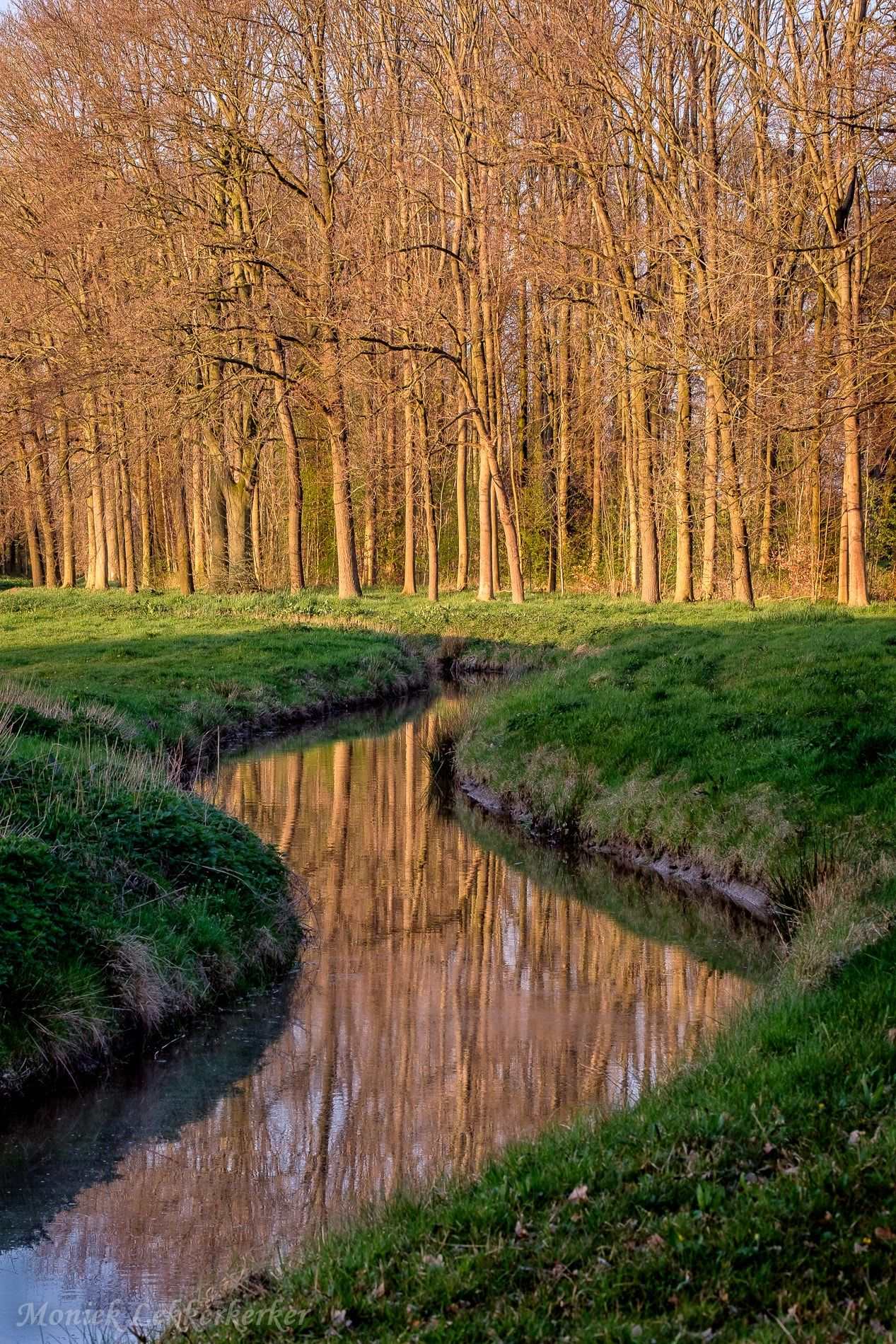 Little Limburg, Haarzuilens - One night i did a little walk of 1.7 km. We saw beautiful landscapes bij a beautiful sunset.