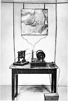 Guglielmo Marconi - Wikipedia, the free encyclopedia | Spark-gap