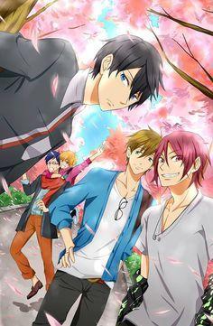 Free Iwatobi Phone Wallpapers Google Search Free Anime Anime
