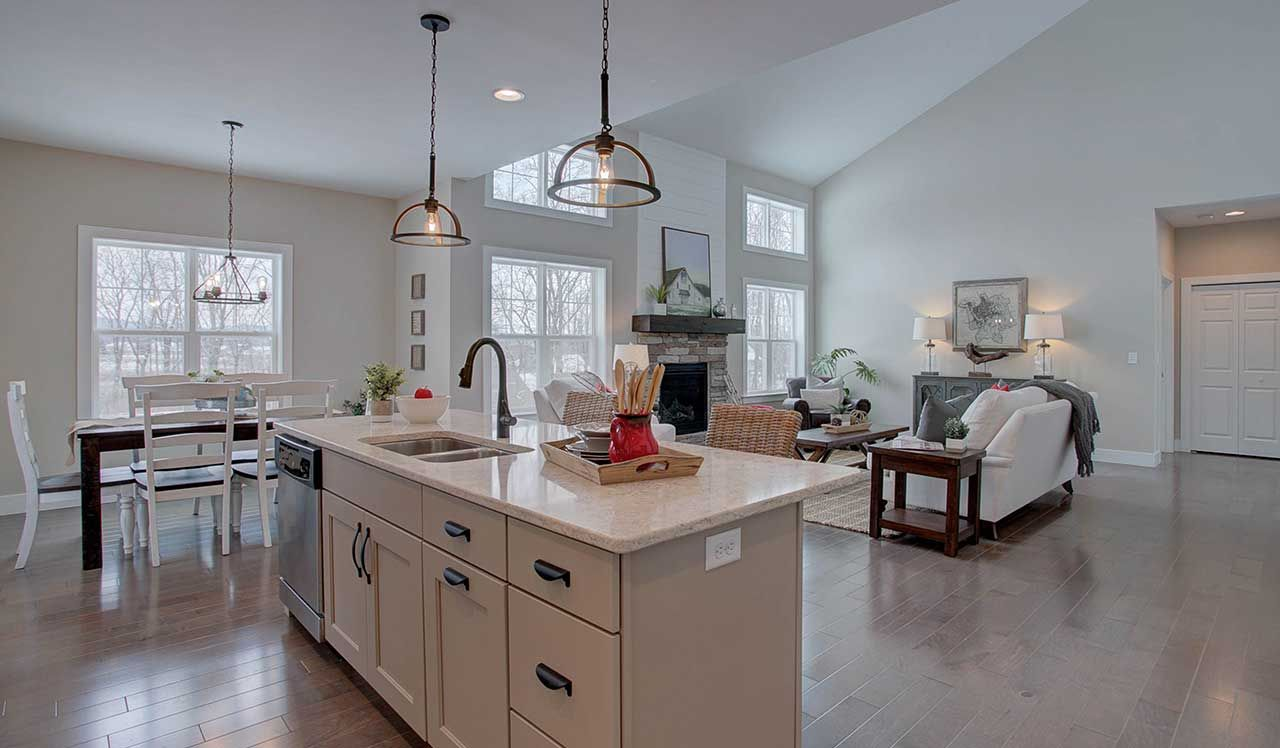 The Hunter Kitchen The Hunter At Hawk Valley Estates Home Builders New Home Builders Home