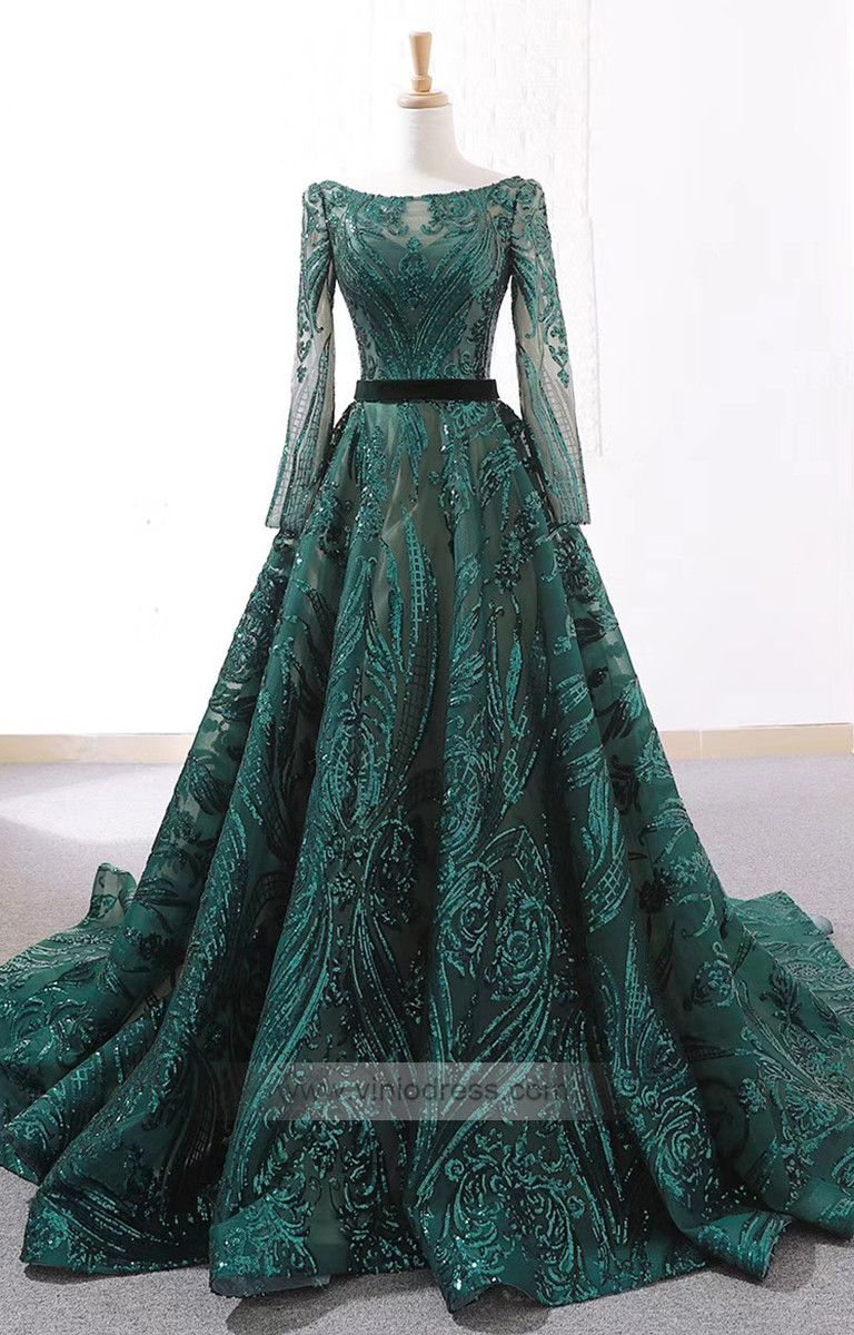 Vintage Emerald Green Lace Prom Dresses With Sleeves Fd1093 Prom Dresses With Sleeves Green Wedding Dresses Prom Dresses Long With Sleeves [ 1200 x 768 Pixel ]
