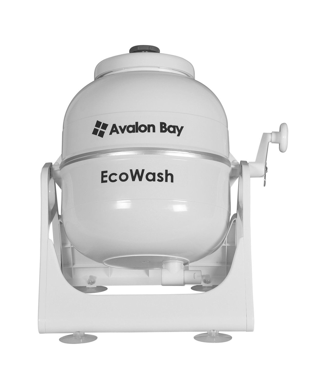 Ecowash Portable Hand Cranked Manual Clothes Non Electric Washing