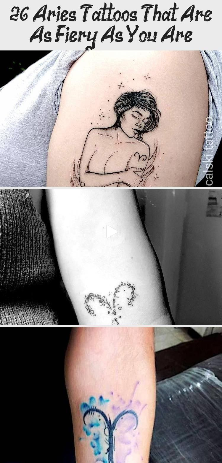 26 Tatuajes de Aries que son tan ardientes como tú