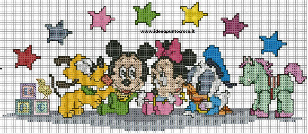 Preferenza BABY DISNEY PUNTO CROCE - CROSS STITCH by syra1974.deviantart.com  SY25