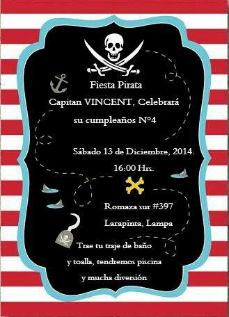 Invitación pirata