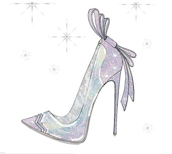 Cinderella Shoe Por Nicholas Kirkwo Con Imagenes Zapatos De