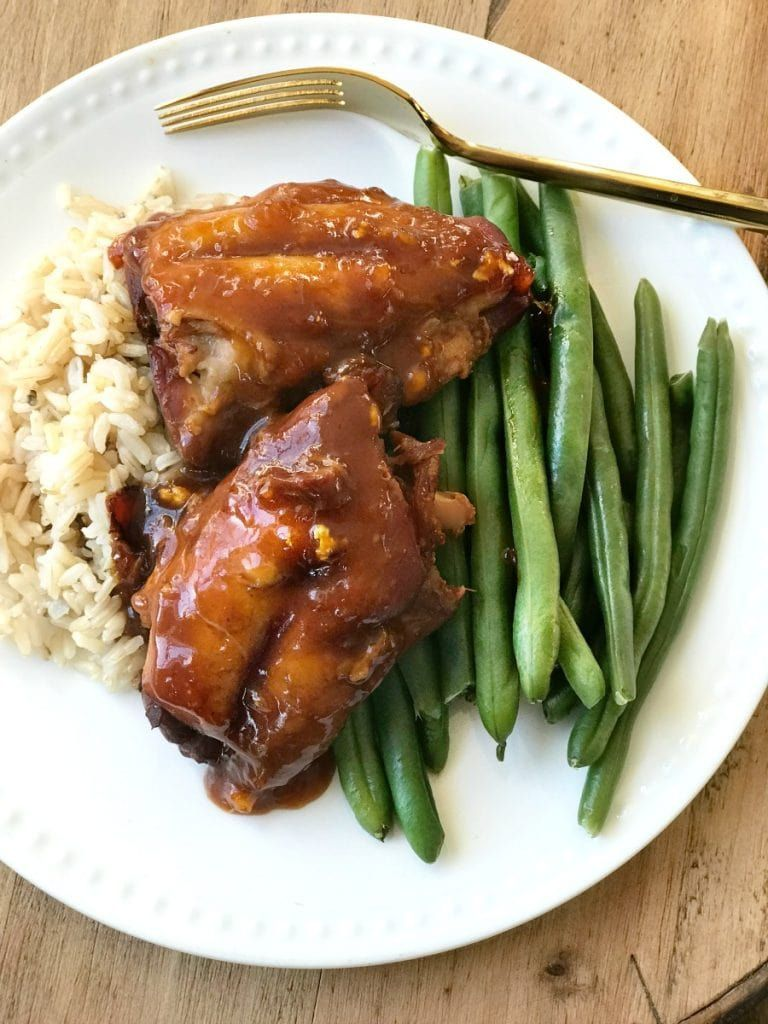 21 Day Fix Instant Pot Asian Chicken - Confessions of a Fit Foodie