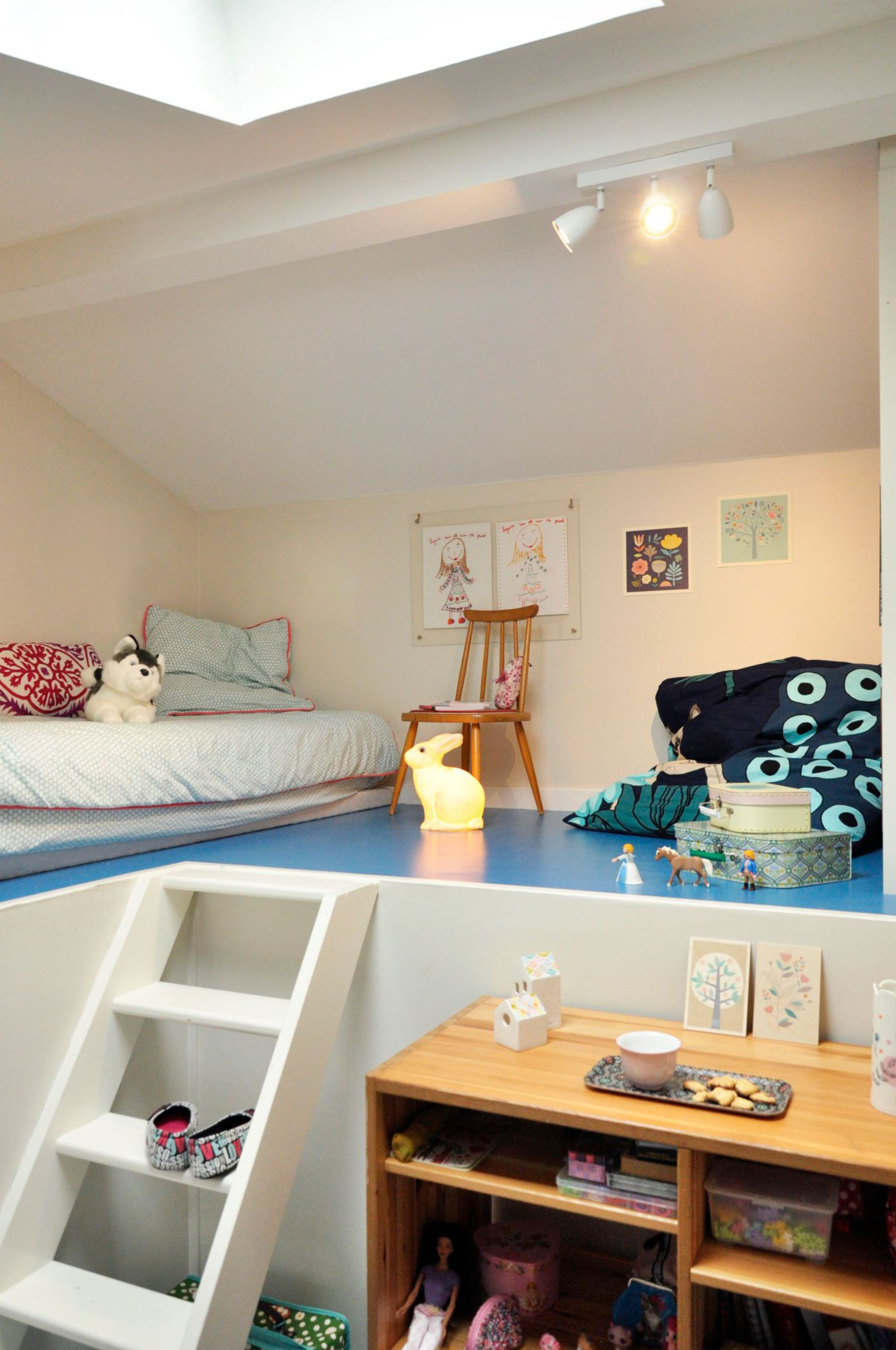 Deco Petite Chambre Enfant petite chambre enfant sous combles | chambre enfant, deco