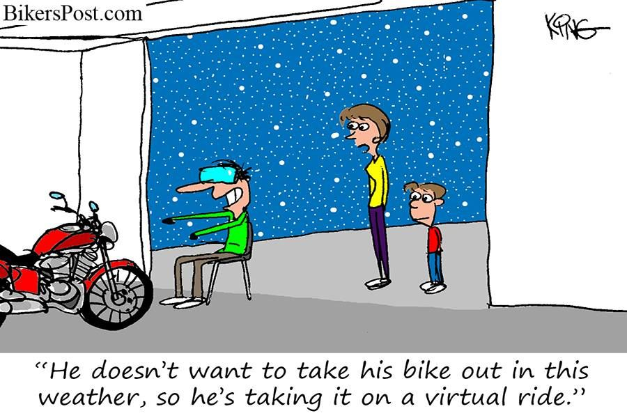 Image result for millennials on motorcycles cartoon
