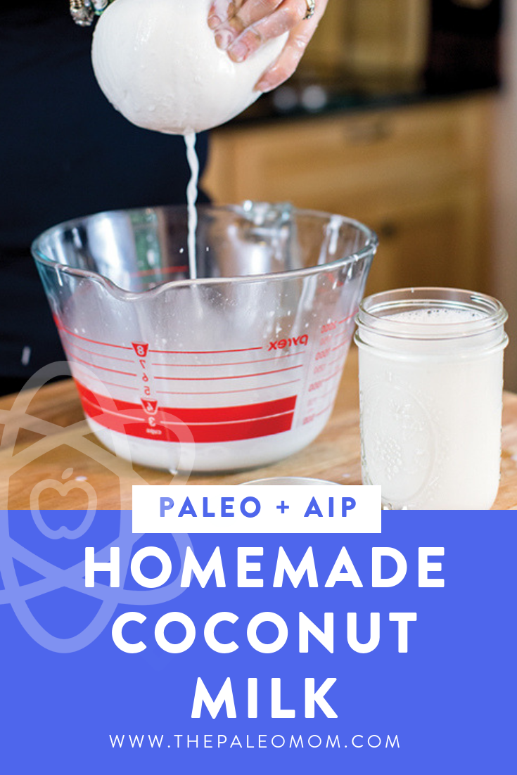 Homemade Coconut Milk (Revisited | Autoimmune Protocol