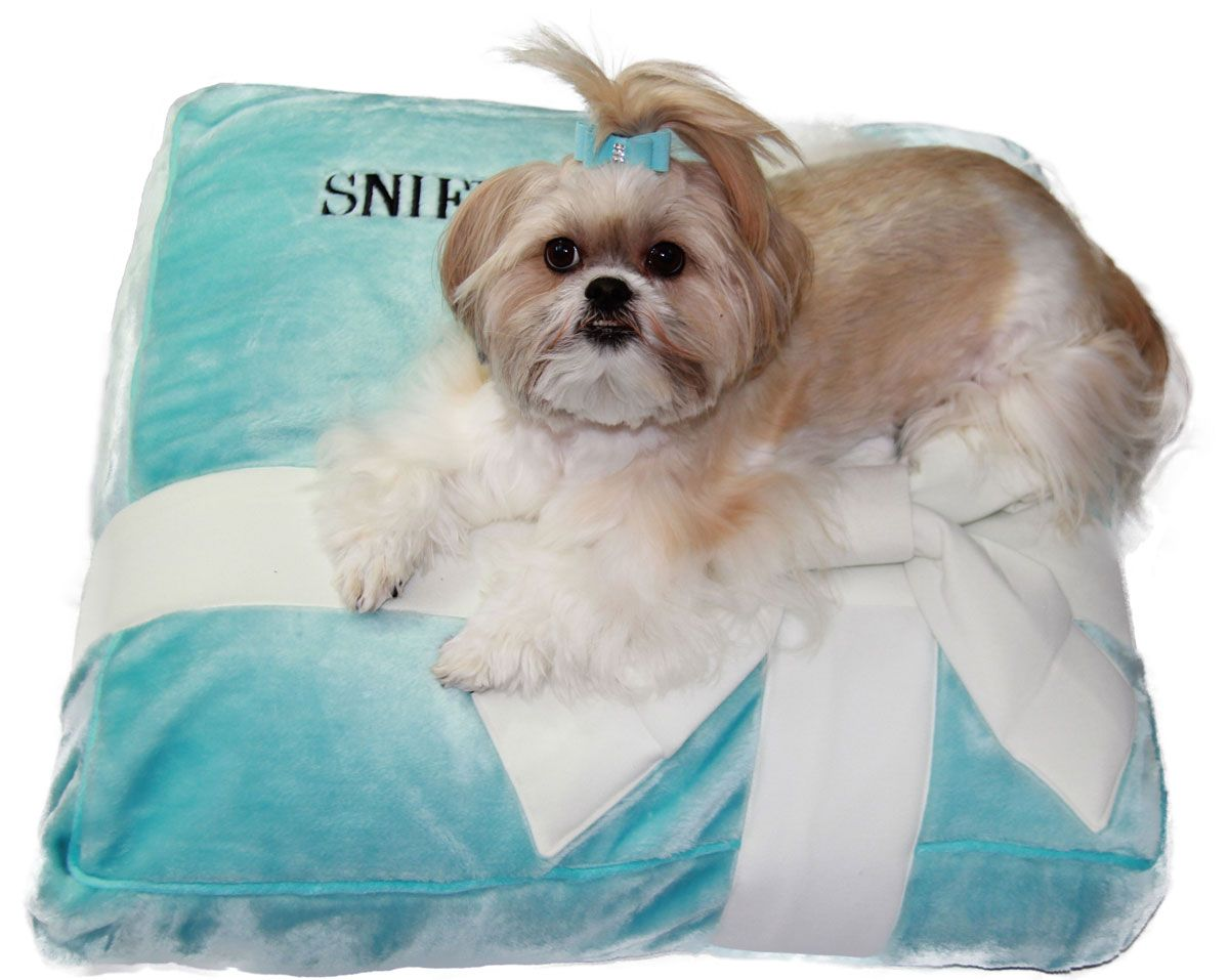Sniffany & Co. Plush Dog Bed! Available at http