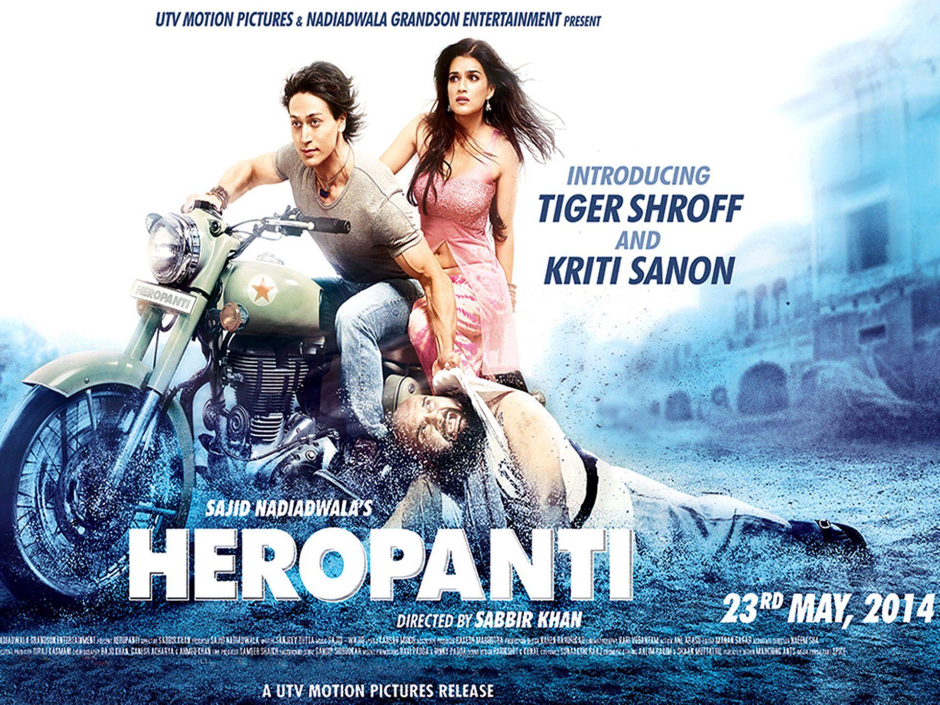 Heropanti Movie HD Wallpapers Tiger shroff, Download