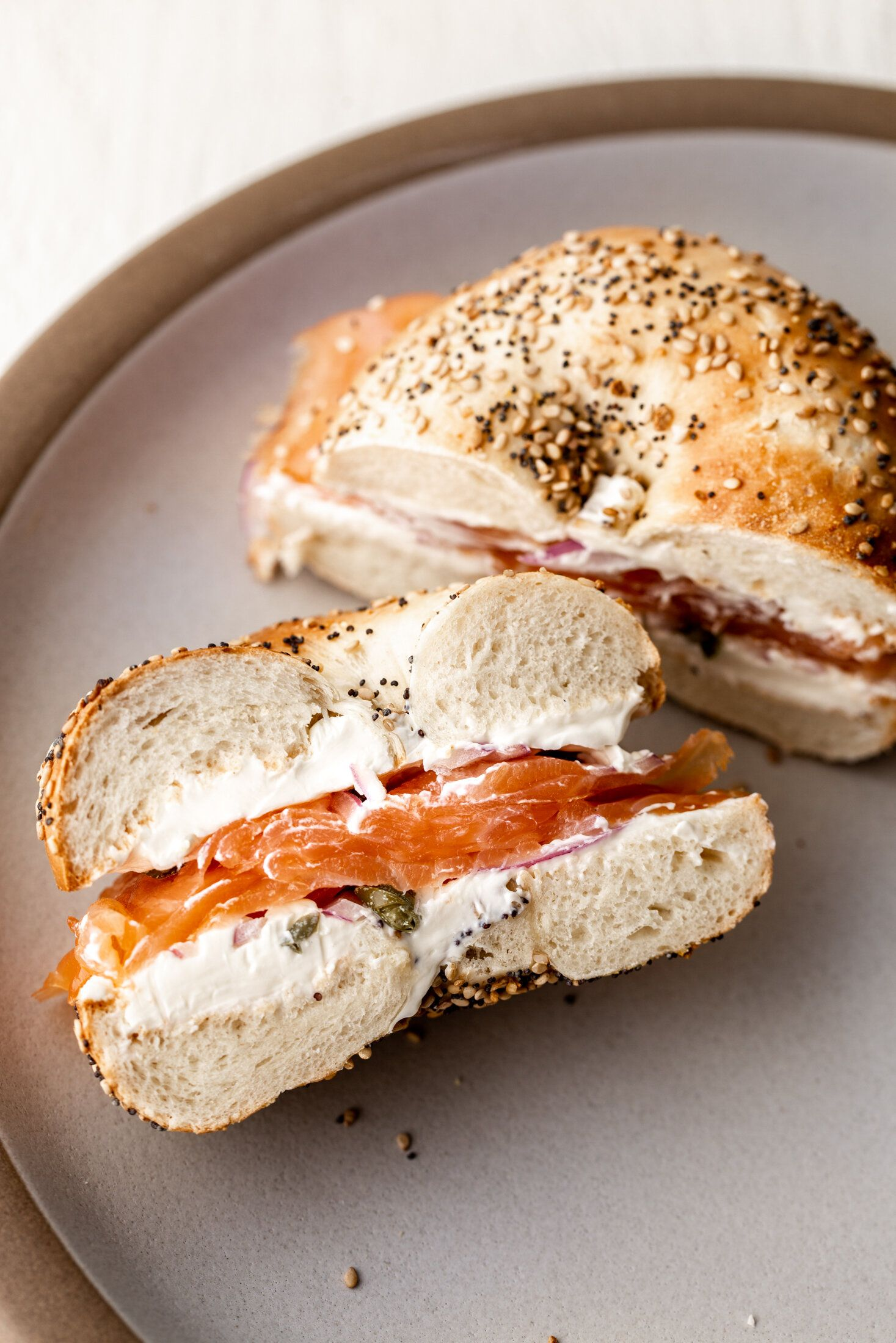 Classic Smoked Salmon Bagel Combo — Cooking with C