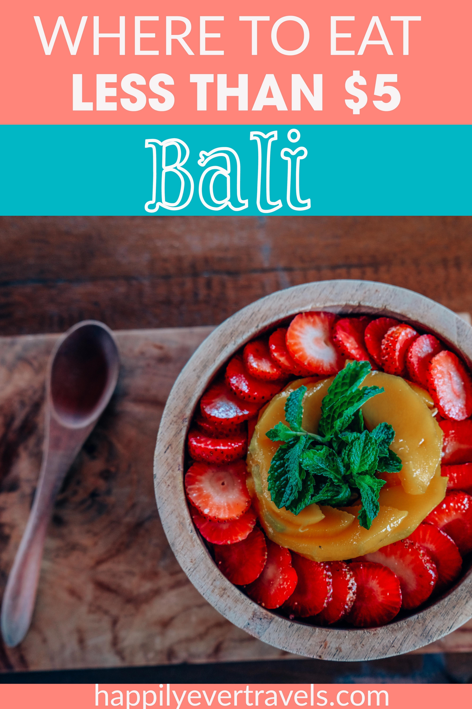 Cheap Eats Bali Best Budget Restaurants Travel Bali