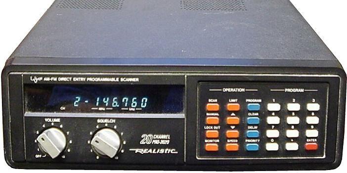 The Prevalence of Radio Shack Scanners #radioscanner | Ham Radio